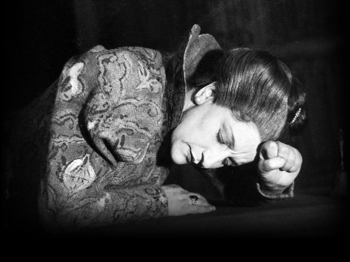 Ida Ehre als Maria Stuart