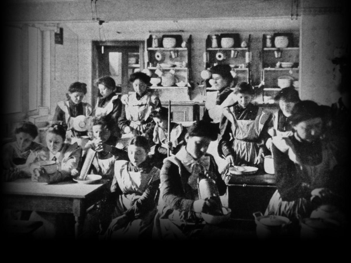 Israelitische Haushaltsschule, 1904