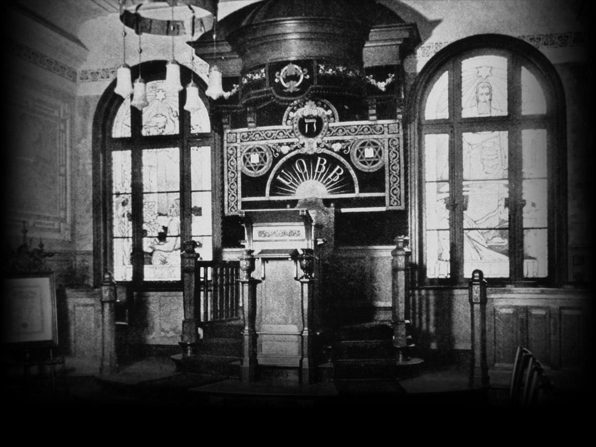 Präsidialsitz im Logensaal, 1904