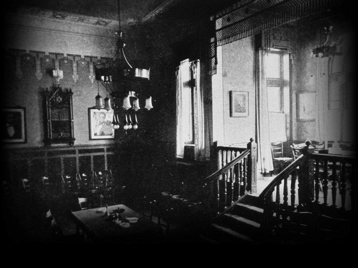 Vorzimmer des Logensaals, 1904